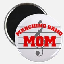 """Marching Band Mom 2.25"""" Magnet (100 pack)"""