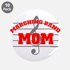 "Marching Band Mom 3.5"" Button (10 pack)"