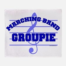 Marching Band Groupie Throw Blanket