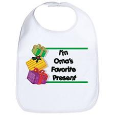 Oma's Favorite Present Bib