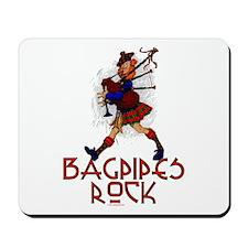 Bagpipes Rock Mousepad