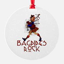 Bagpipes Rock Ornament