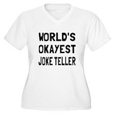 World's Okayest J T-Shirt