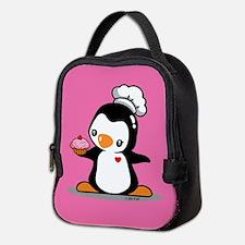 Cooking Penguin Neoprene Lunch Bag
