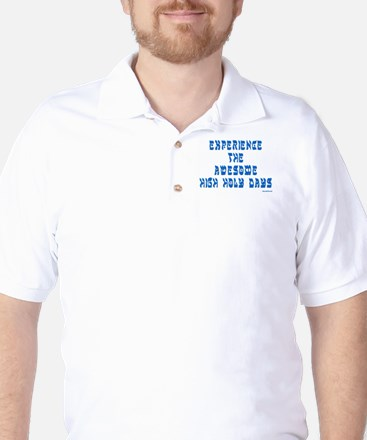 Experience Awesome Holy Days Golf Shirt