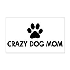 Crazy Dog Mom Wall Decal