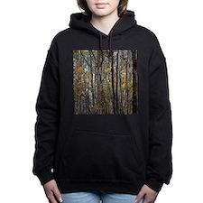 forest trees Camo Camouf Women's Hooded Sweatshirt