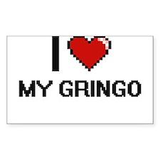 I Love My Gringo Decal