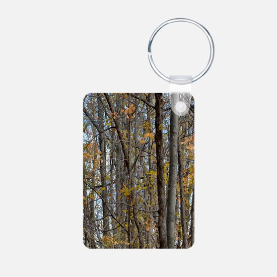 forest trees Camo Camouflage Keychains