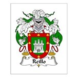 Reillo Family Crest Small Poster