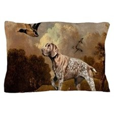 duck hunter hunting dog Pillow Case