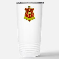 Delta Tau Chi Stainless Steel Travel Mug