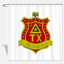 Delta Tau Chi Shower Curtain