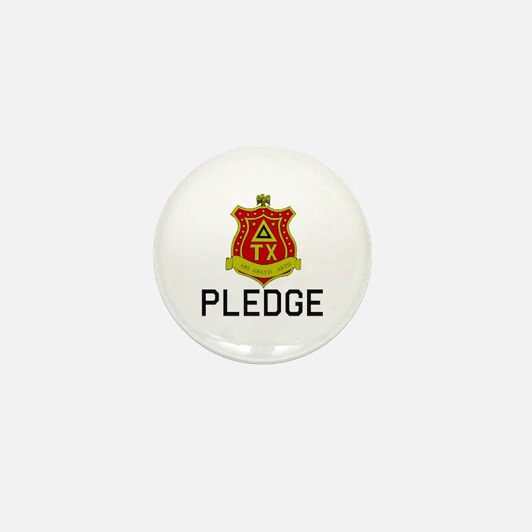 Delta Tau Chi Pledge Mini Button