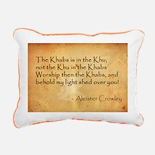 Khu Rectangular Canvas Pillow