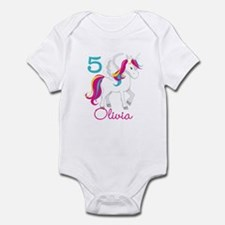 Unicorn Birthday Infant Bodysuit
