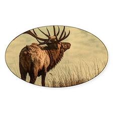 rustic western wild elk Decal