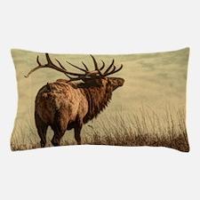 rustic western wild elk Pillow Case
