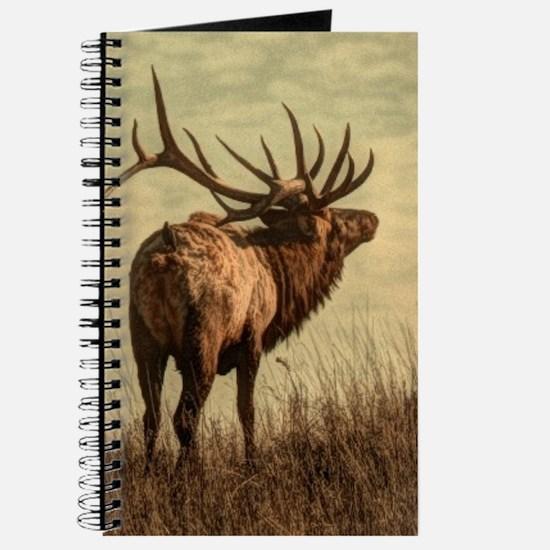 rustic western wild elk Journal