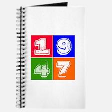 1947 Birthday Designs Journal