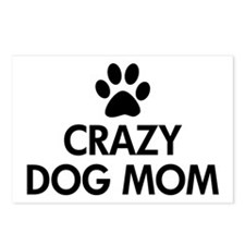 Crazy Dog Mom Postcards (Package of 8)