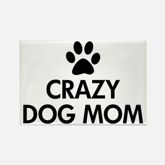 Crazy Dog Mom Magnets
