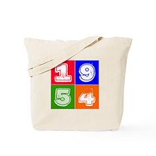 1954 Birthday Designs Tote Bag