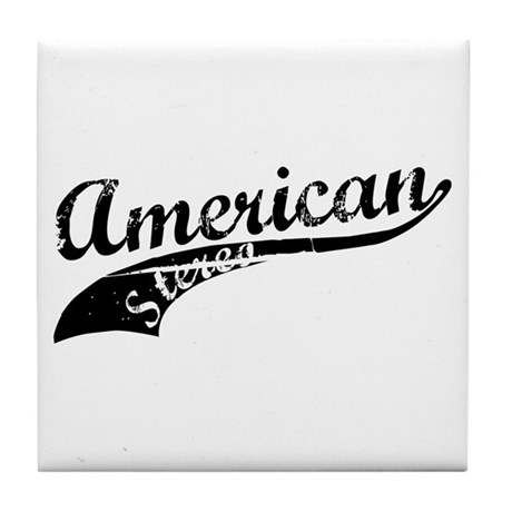 American Stereo Tile Coaster