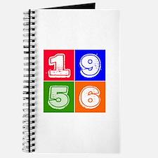 1956 Birthday Designs Journal