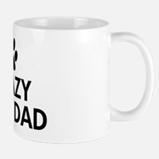 Crazy Dog Dad Mug
