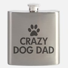 Crazy Dog Dad Flask