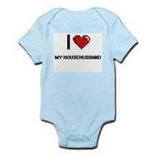 I Love My Househusband Body Suit