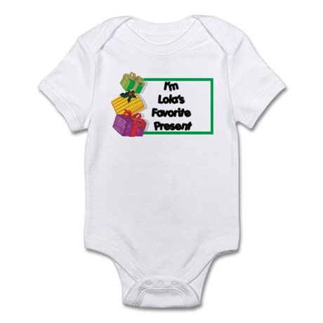 Lola's Favorite Present Infant Bodysuit
