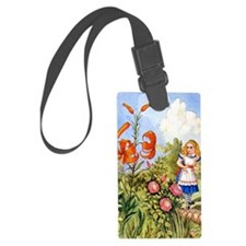 The Talking Flowers and Alice in Luggage Tag