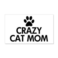 Crazy Cat Mom Wall Decal