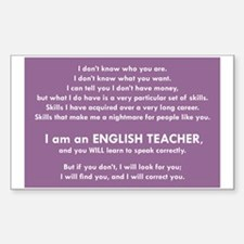I Will Find You – Speak Properly Decal
