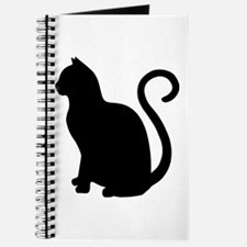Black Cat Silhouette Journal