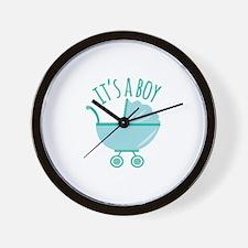 It's Boy Wall Clock