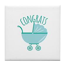 Congrats Tile Coaster