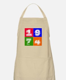 1974 Birthday Designs Apron