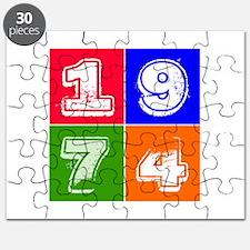 1974 Birthday Designs Puzzle