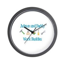 Ashton - Work Buddies Wall Clock