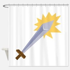 Sword Shower Curtain