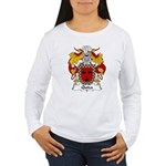 Quiza Family Crest  Women's Long Sleeve T-Shirt