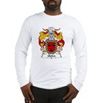 Quiza Family Crest  Long Sleeve T-Shirt