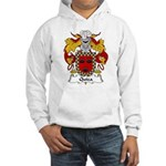 Quiza Family Crest Hooded Sweatshirt