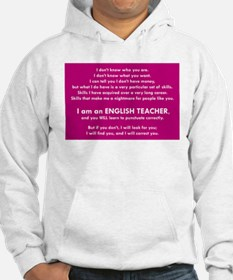 I Will Find You – Punctuation Hoodie