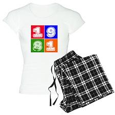 1981 Birthday Designs Pajamas