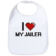 I Love My Jailer Bib