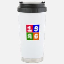 1986 Birthday Designs Travel Mug